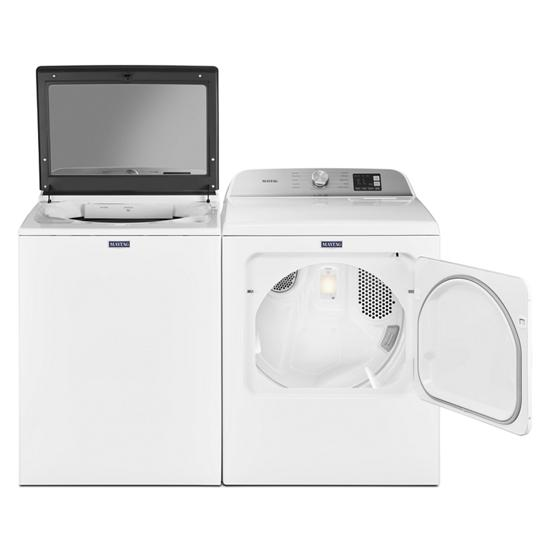 Model: MGD6200KW | Maytag Top Load Gas Dryer with Moisture Sensing - 7.0 cu. ft