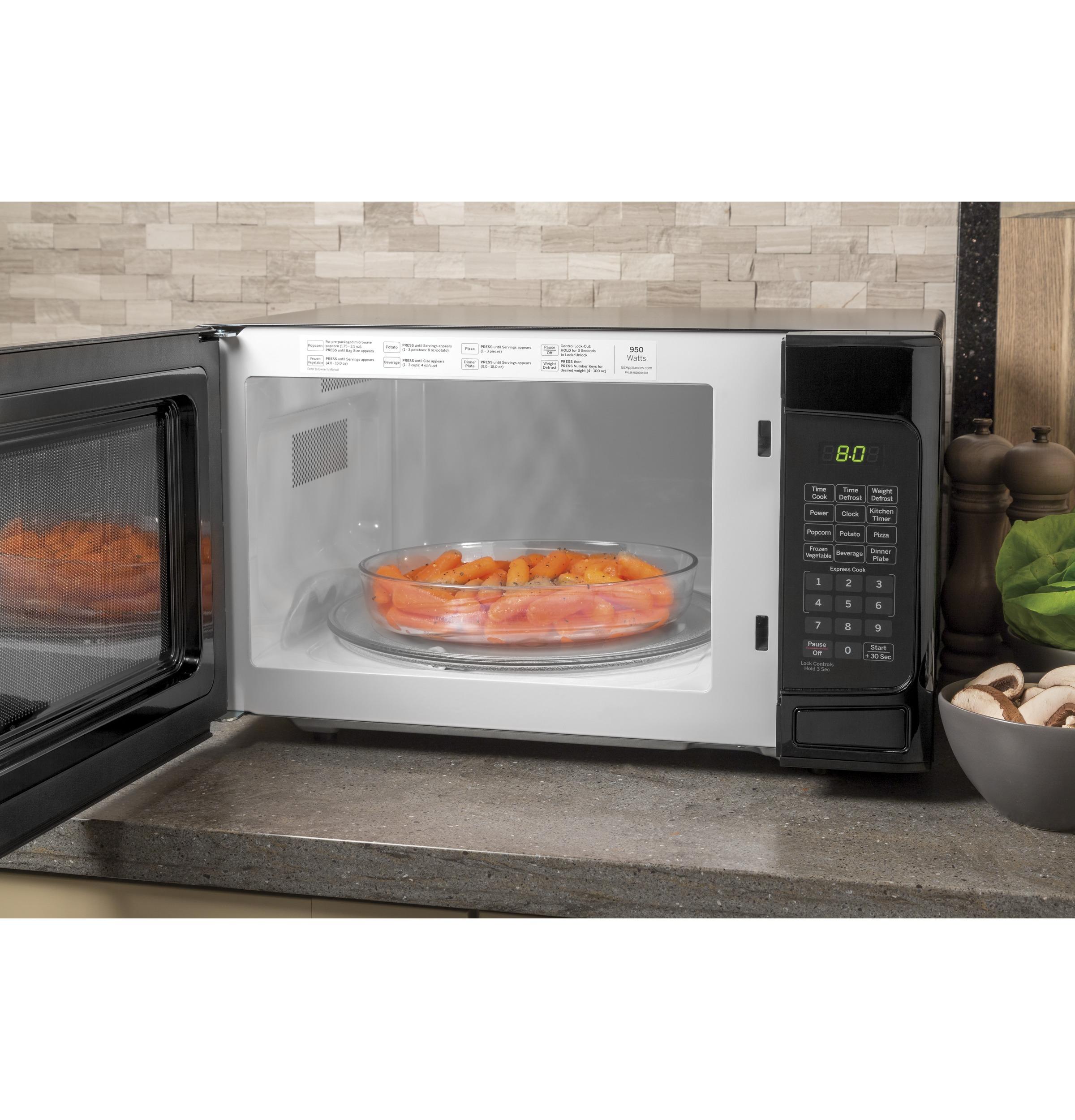 Model: JESP113DPBB | GE GE® 1.1 Cu. Ft. Capacity Countertop Microwave Oven