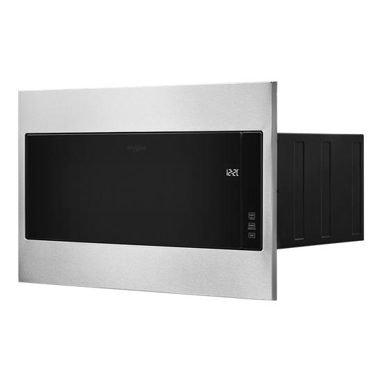 "Model: WMT55511KS | Whirlpool 1.1 cu. ft. Built-In Microwave with Standard Trim Kit - 19-1/8"" Height"