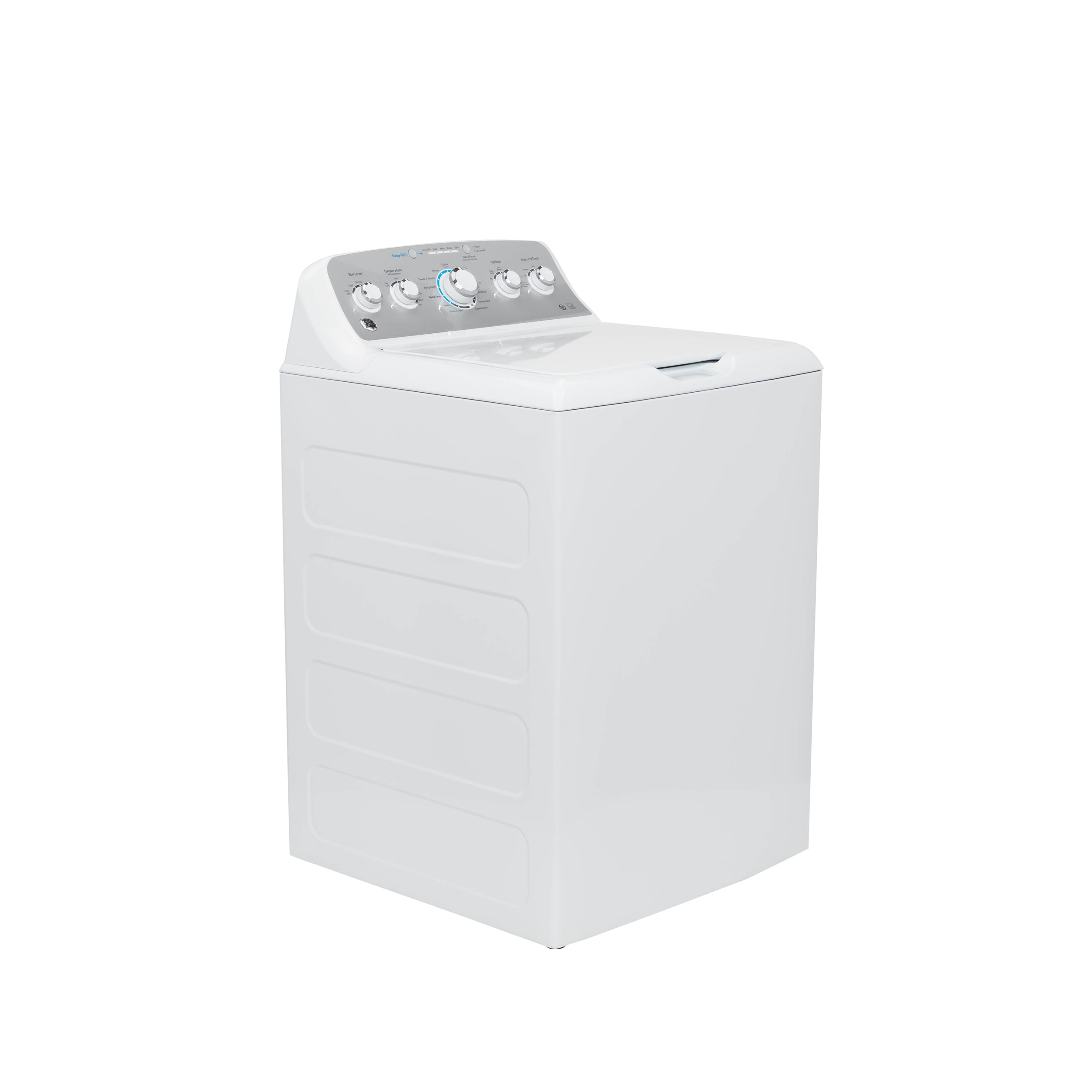 Model: GTW500ASNWS | GE GE® 4.6 cu. ft. Capacity Washer with Stainless Steel Basket