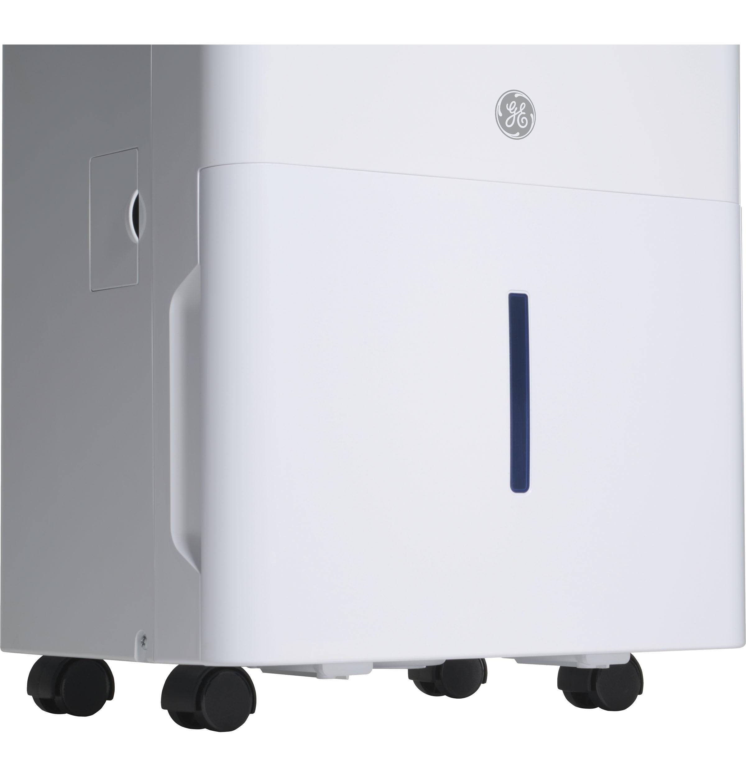 Model: QDHR50LZ | Haier Haier® ENERGY STAR® 50 Pint Dehumidifier for Home or Basement, Large, White