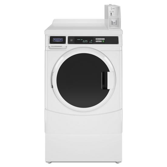 """Whirlpool 27"""" Commercial High-Efficiency Energy Star-Qualified Front-Load Washer Featuring Factory-Installed Coin Drop with Coin Box"""