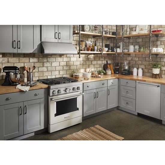 Model: KDTM804KPS | KitchenAid 44 dBA Dishwasher with FreeFlex™ Third Rack and LED Interior Lighting