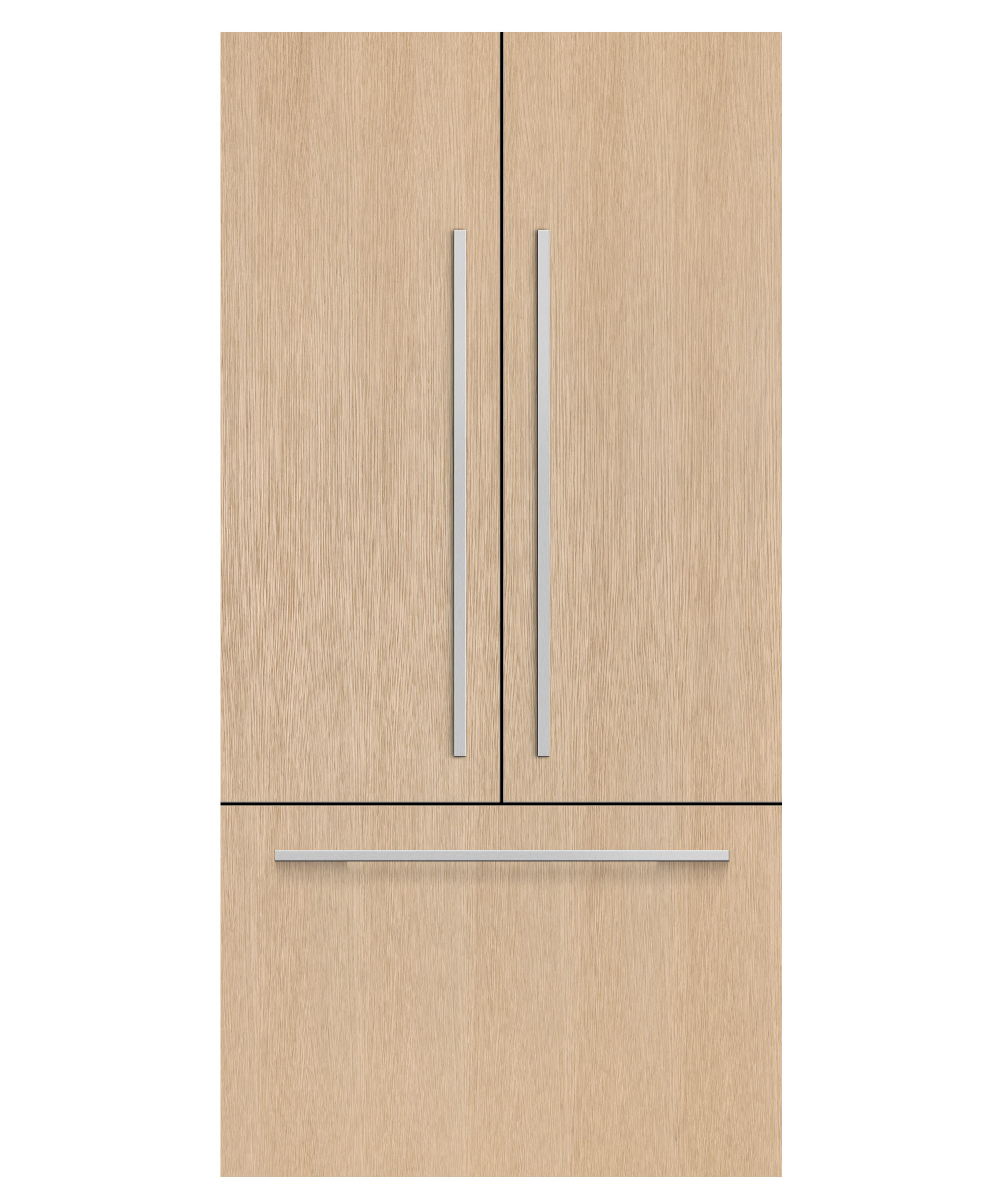 """Fisher and Paykel Integrated French Door Refrigerator Freezer, 32"""", Ice"""