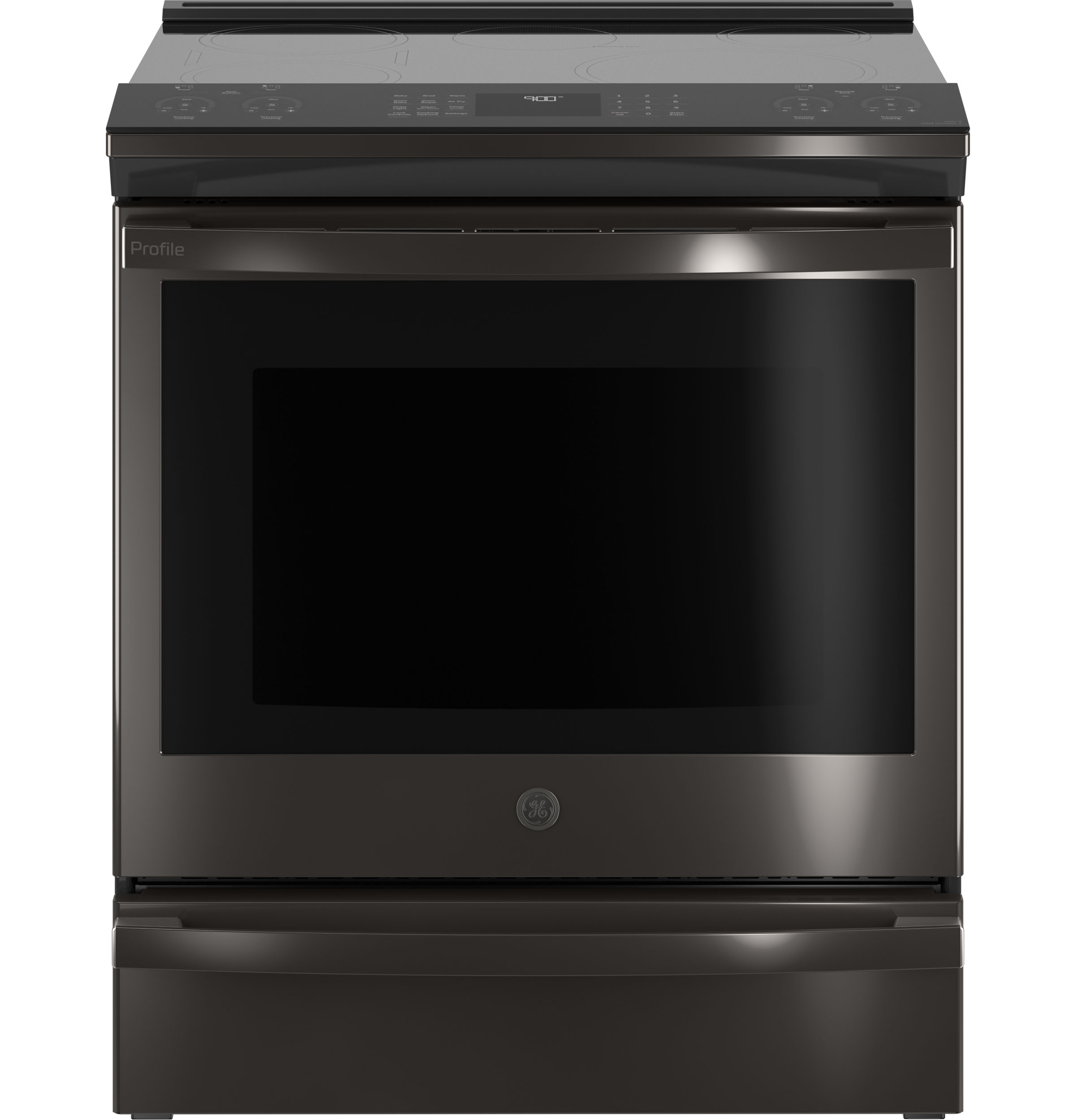 "GE Profile GE Profile™ 30"" Smart Slide-In Front-Control Induction and Convection Range with No Preheat Air Fry"