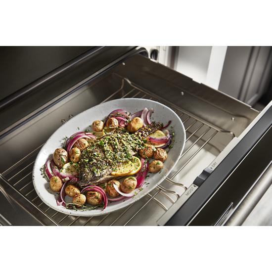 Model: KOWT100EBS   KitchenAid 30'' Slow Cook Warming Drawer with PrintShield™ Finish