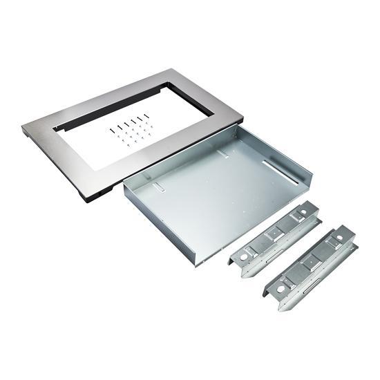Unbranded Over-The-Range Microwave Trim Kit, Anti-Fingerprint Stainless Steel