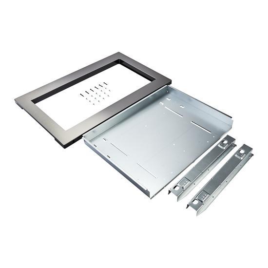 Unbranded Countertop Microwave Trim Kit, Anti-Fingerprint Stainless Steel