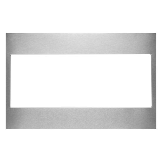 Unbranded Built-In Low Profile Microwave Standard Trim Kit, Stainless Steel