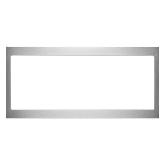 Unbranded Built-In Low Profile Microwave Slim Trim Kit, Stainless Steel