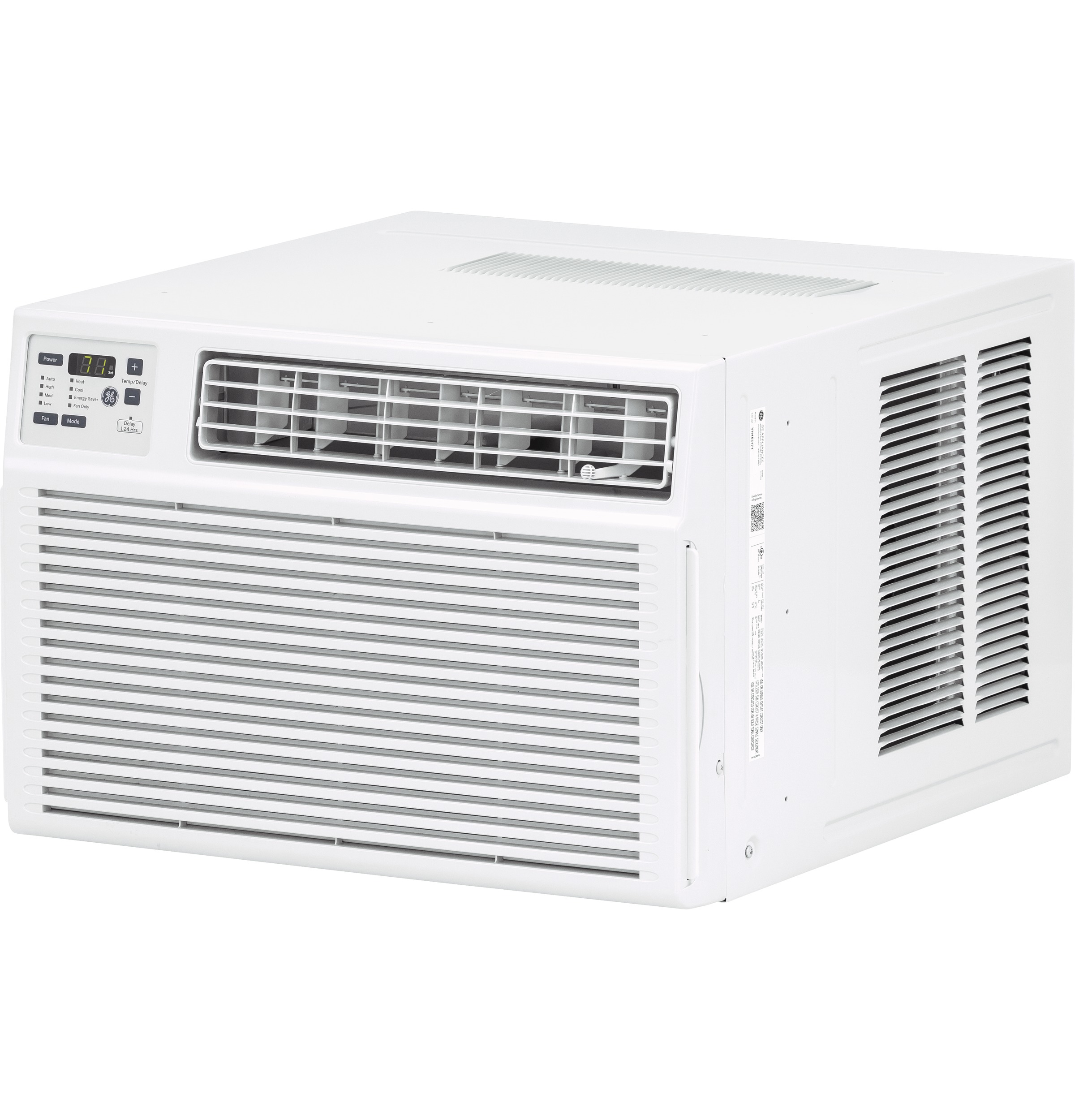 Model: AHE08AZ | GE GE® 115 Volt Electronic Heat/Cool Room Air Conditioner