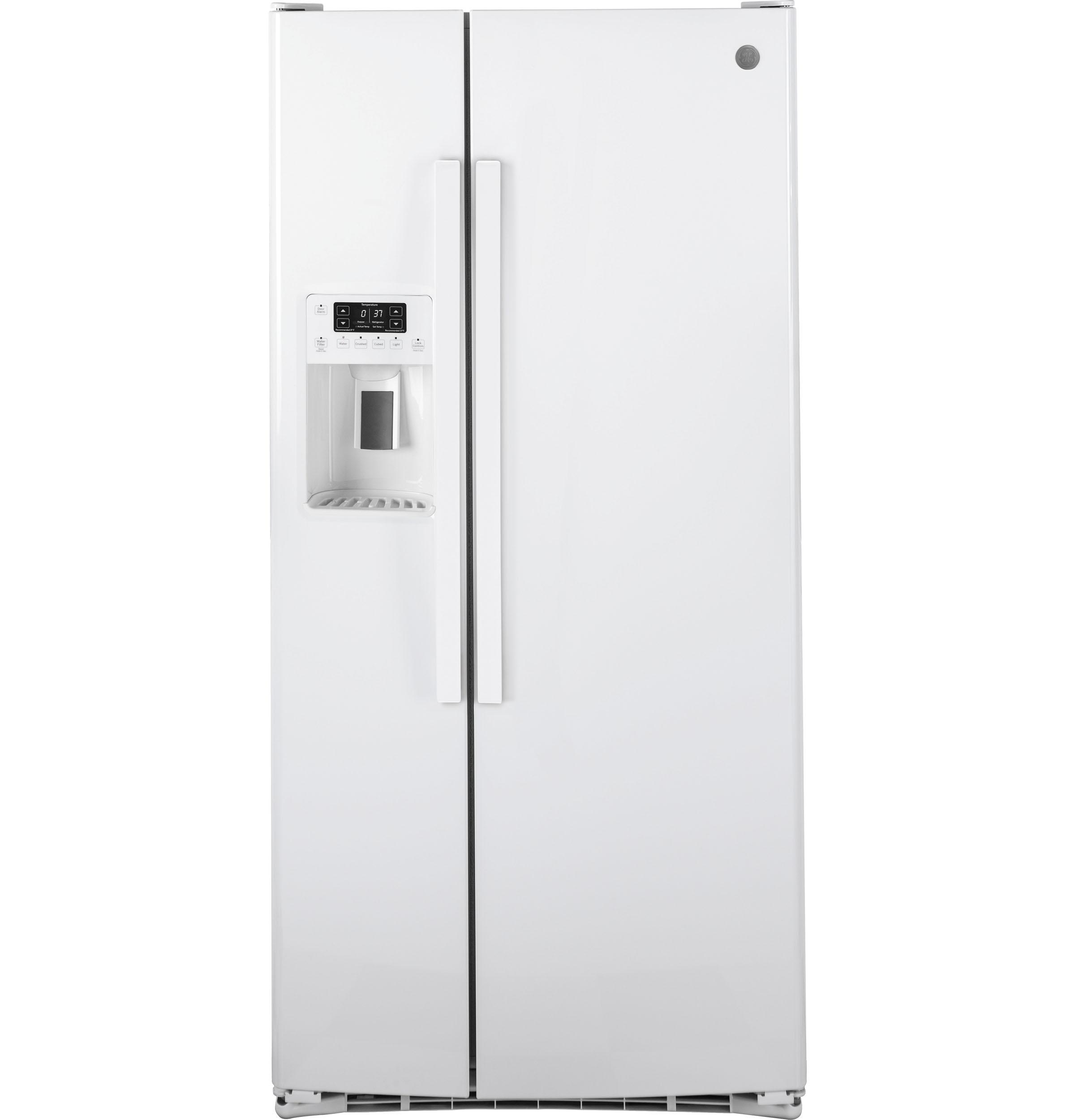 GE GE® ENERGY STAR® 23.2 Cu. Ft. Side-By-Side Refrigerator