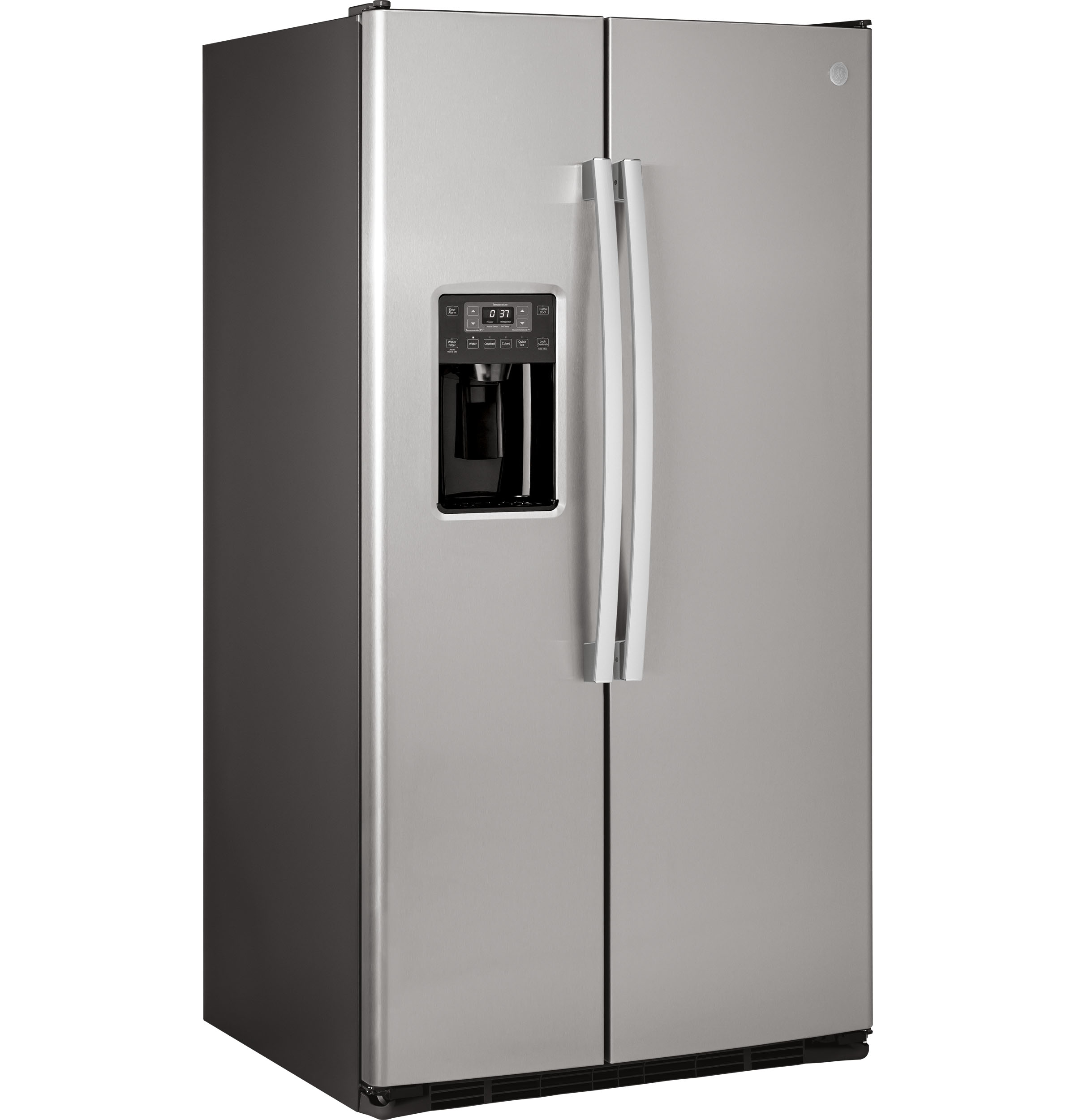 Model: GSS25GSHSS | GE GE® 25.3 Cu. Ft. Side-By-Side Refrigerator