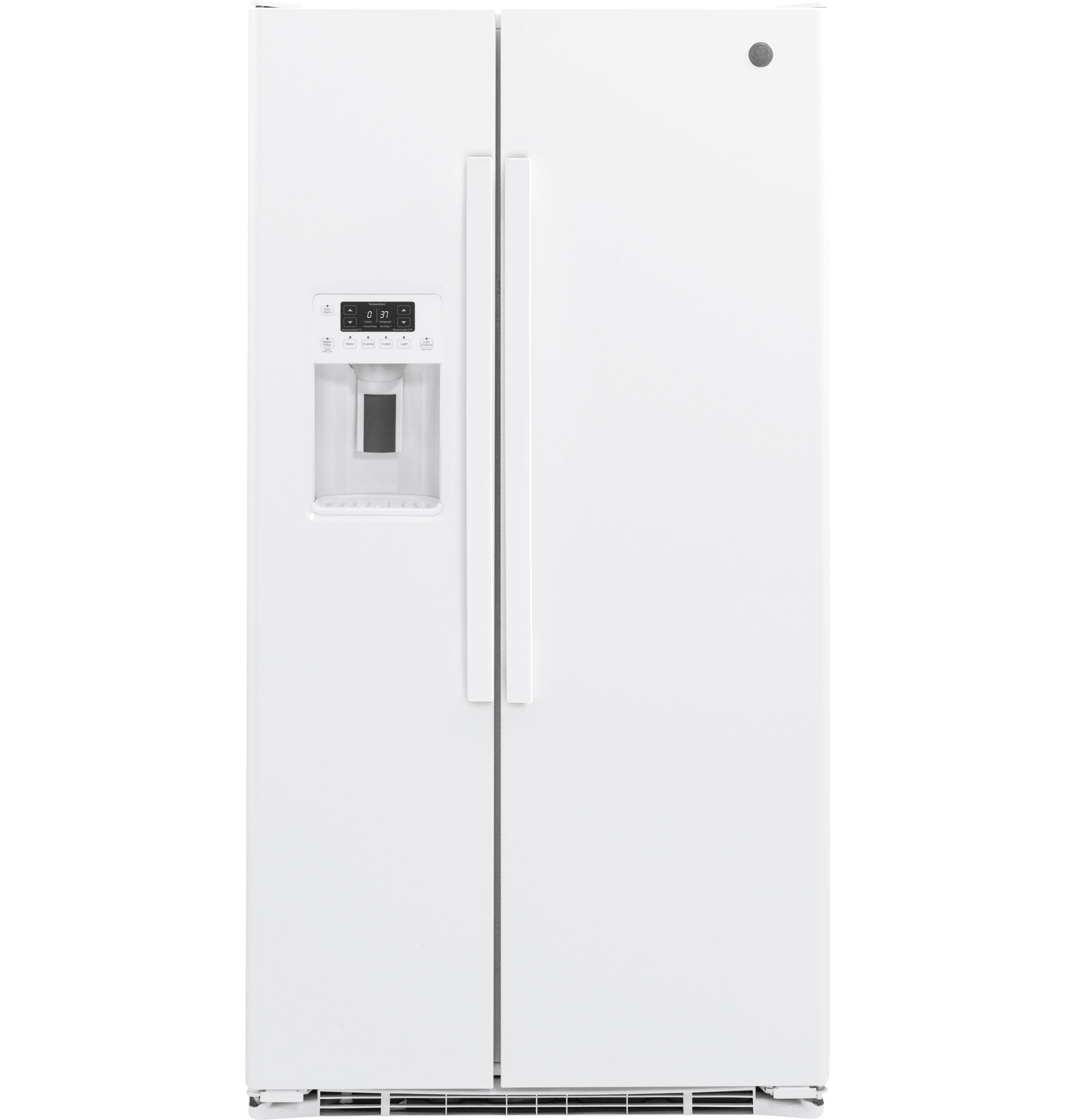 GE GE® 21.9 Cu. Ft. Counter-Depth Side-By-Side Refrigerator