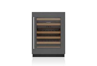 "Sub-Zero 24"" Designer Undercounter Wine Storage – Panel Ready - High Altitude - Left Hinge"