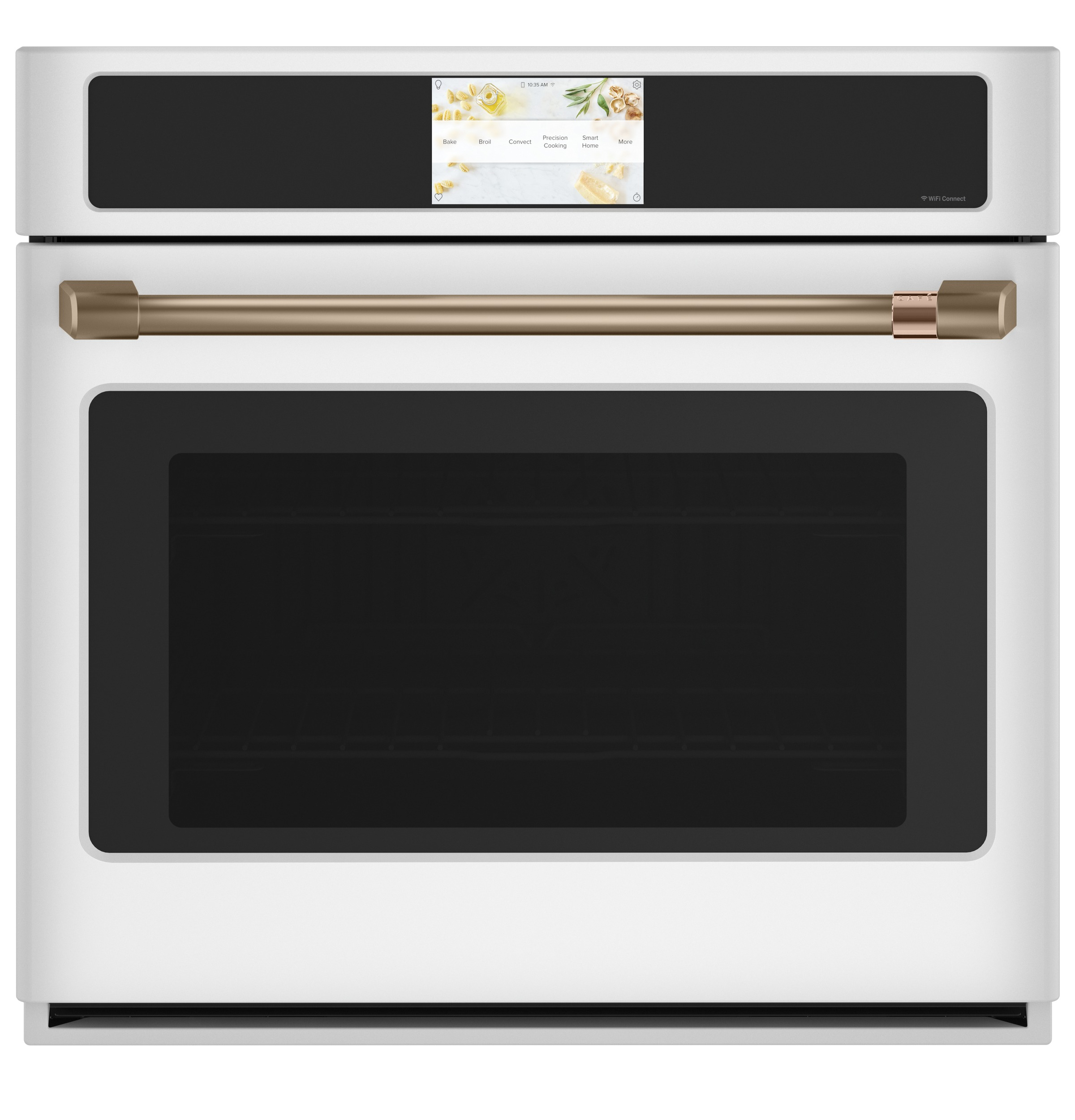 "Cafe Café™ Professional Series 30"" Smart Built-In Convection Single Wall Oven"