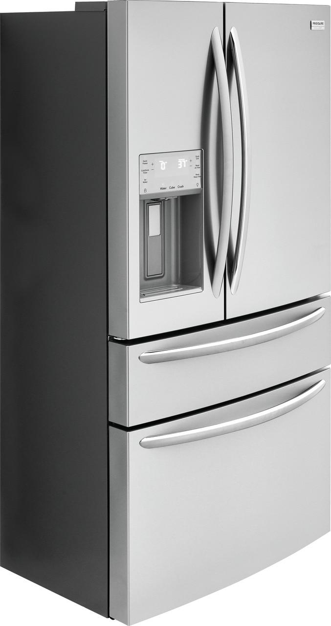 Model: FG4H2272UF | Frigidaire Gallery 21.8 Cu. Ft. Counter-Depth 4-Door French Door Refrigerator
