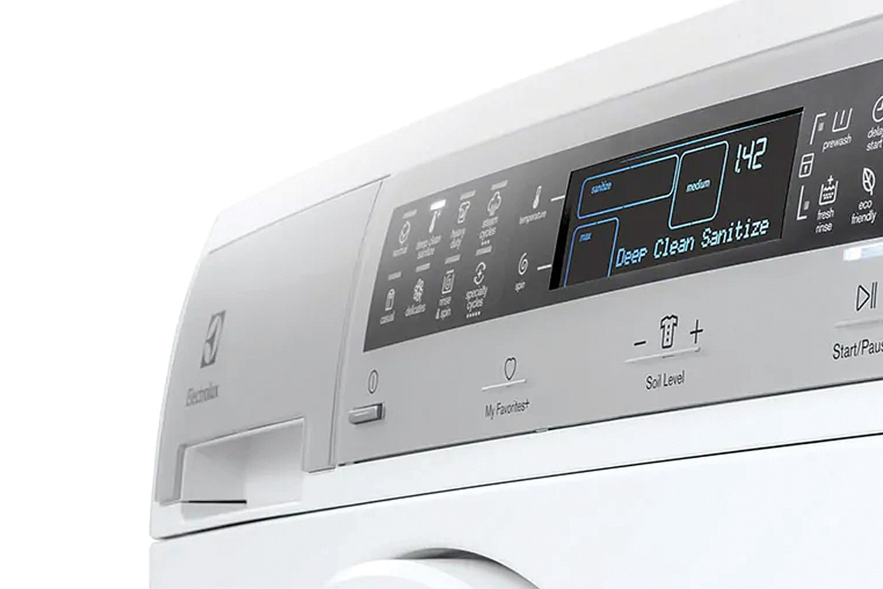 Model: EFLS210TIS | Electrolux Compact Washer with IQ-Touch® Controls featuring Perfect Steam™ - 2.4 Cu. Ft.