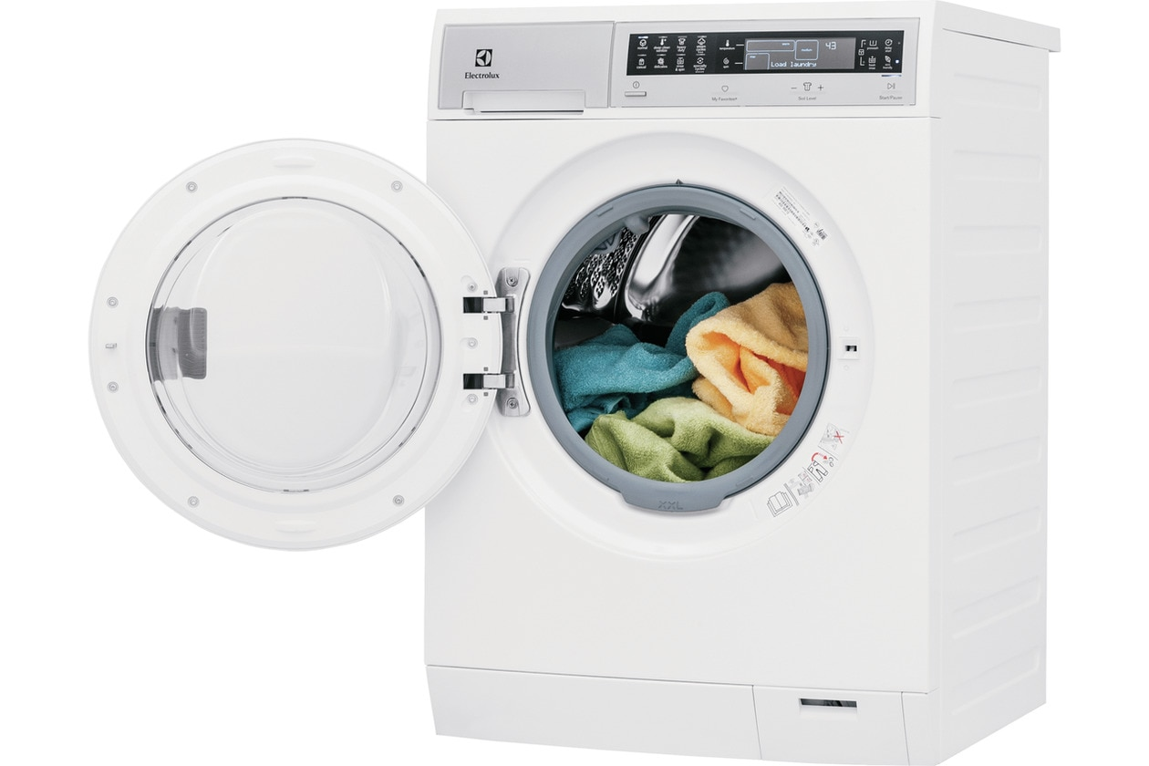 Model: EFLS210TIW | Electrolux Compact Washer with IQ-Touch® Controls featuring Perfect Steam™ - 2.4 Cu. Ft.