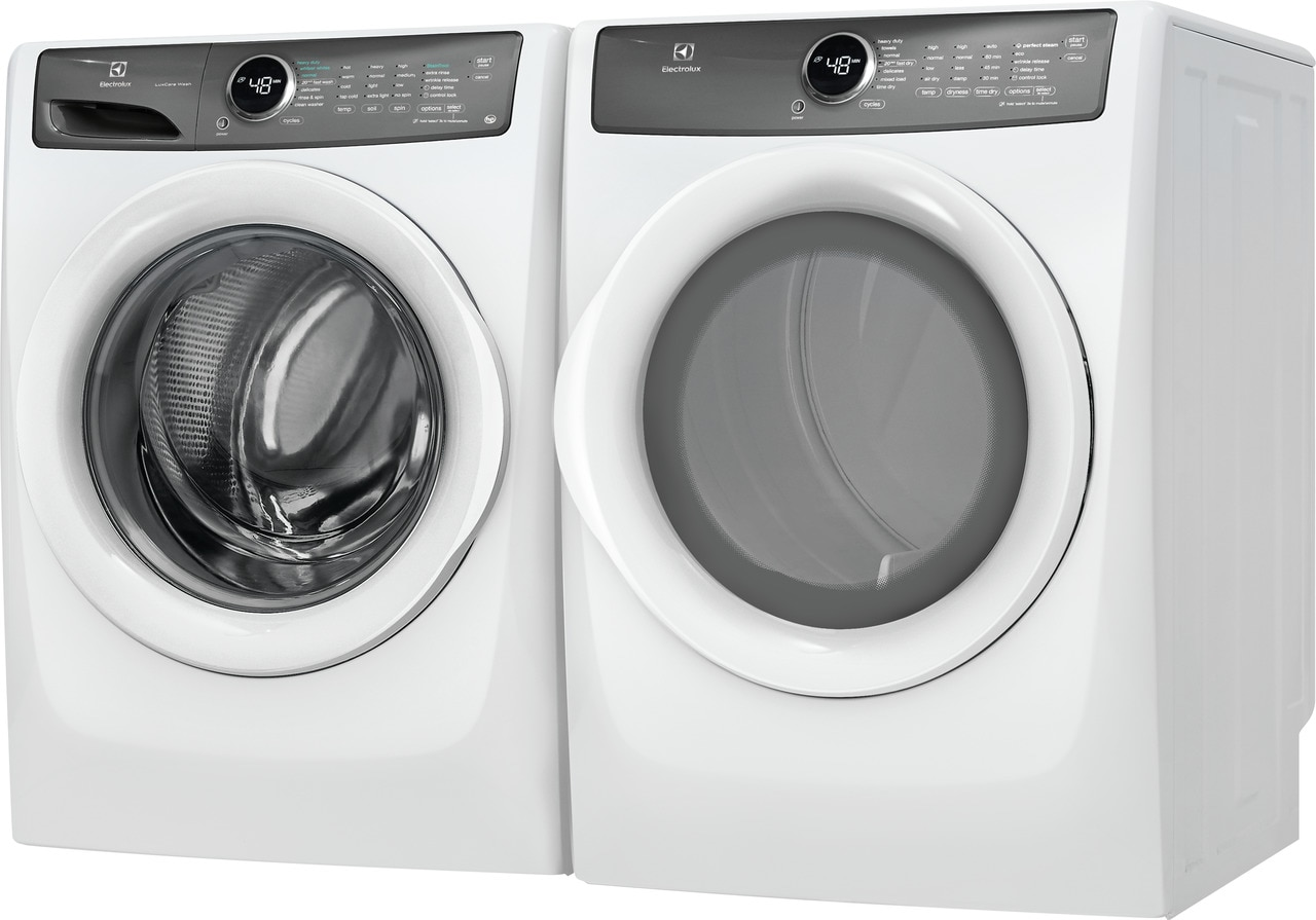 Model: EFLW427UIW | Electrolux Front Load Washer with LuxCare® Wash - 4.3 Cu. Ft.