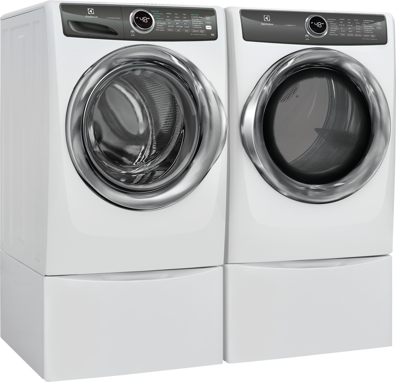 Model: EFME527UIW | Electrolux Front Load Perfect Steam™ Electric Dryer with LuxCare® Dry and Instant Refresh - 8.0 Cu. Ft.