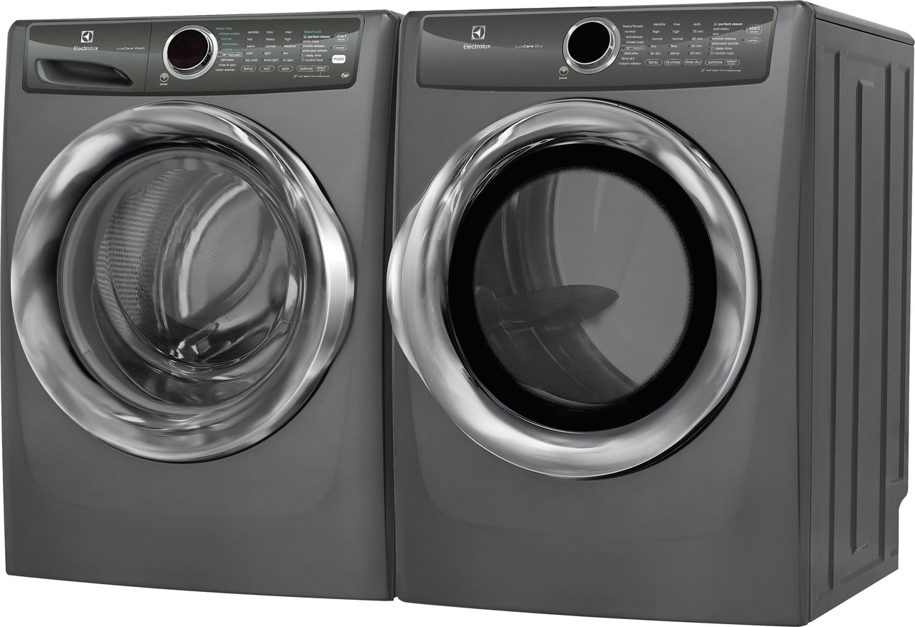 Model: EFME527UTT | Electrolux Front Load Perfect Steam™ Electric Dryer with LuxCare® Dry and Instant Refresh - 8.0 Cu. Ft.
