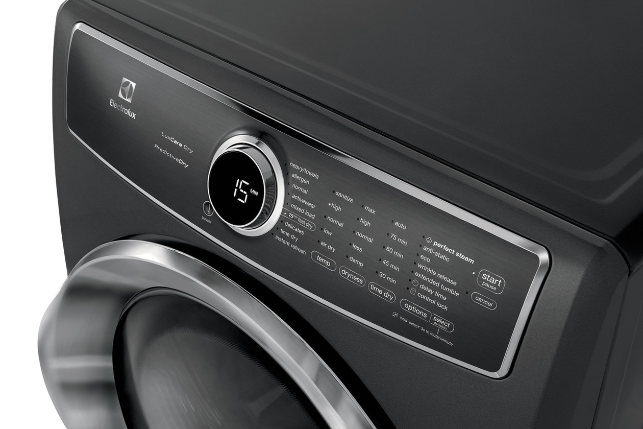 Model: EFME627UIW | Electrolux Front Load Perfect Steam™ Electric Dryer with PredictiveDry™ and Instant Refresh - 8.0. Cu. Ft.