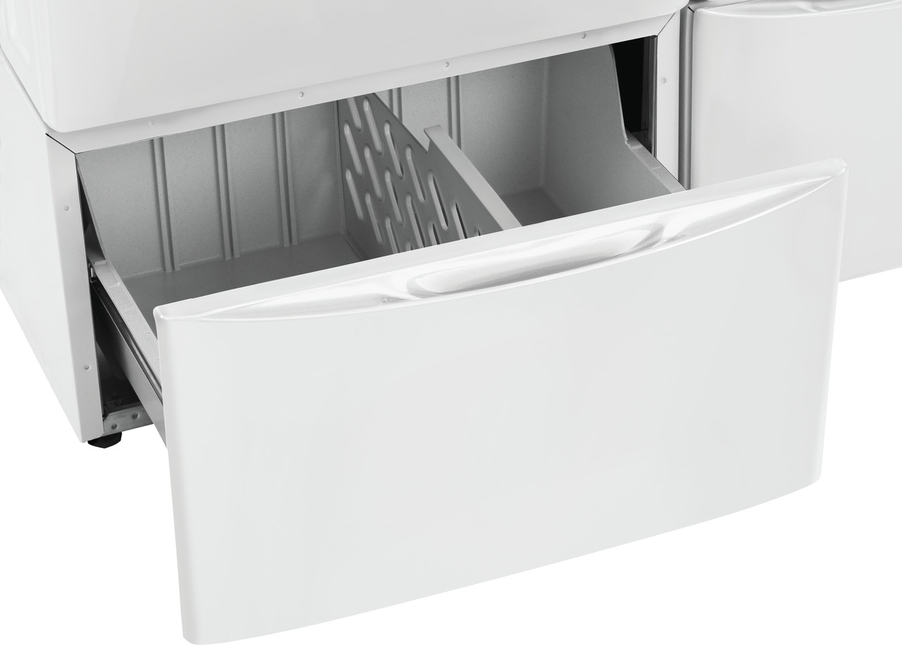 Model: EPWD257UIW | Electrolux Luxury-Glide® Pedestal with Spacious Storage Drawer