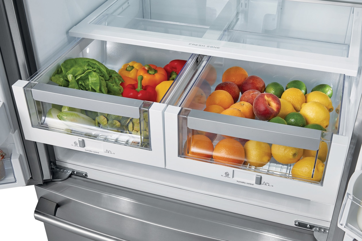 Model: EW23BC87SS | Electrolux Counter-Depth French Door Refrigerator with Wave-Touch® Controls