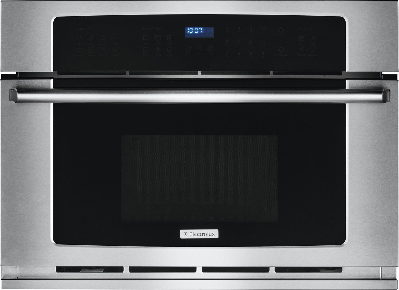 """Electrolux 30"""" Built-In Convection Microwave Oven with Drop-Down Door"""