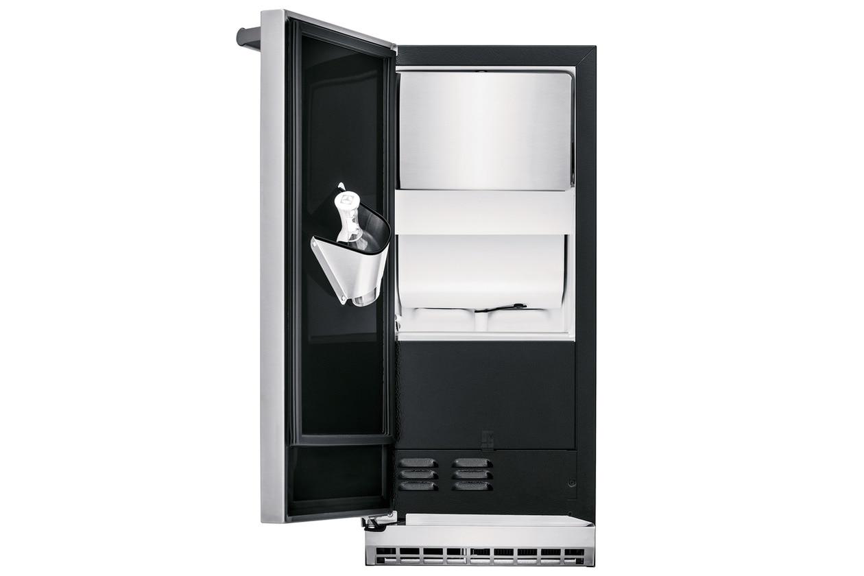 "Model: UL15IM20RS | Electrolux 15""  Ice Maker with Left Hinge Door"