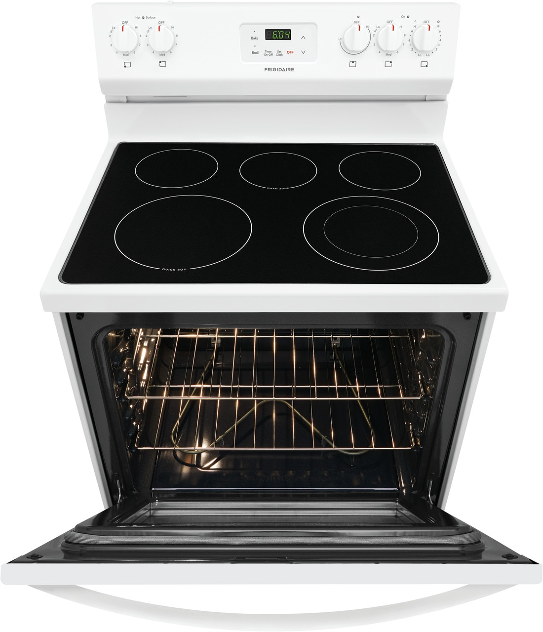 """Model: FCRE3052AW   Frigidaire 30"""" Electric Range"""