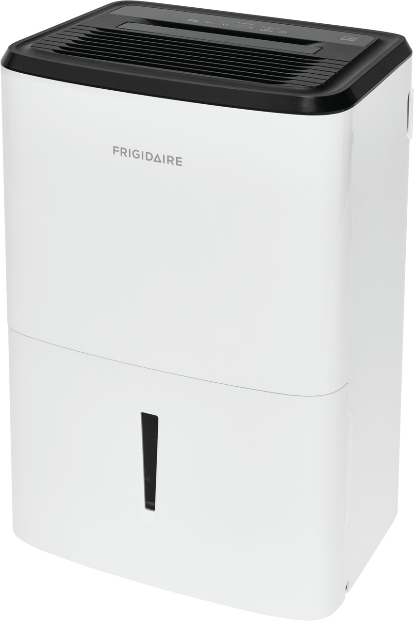 Model: FFAD5033W1   Frigidaire High Humidity 50 Pint Capacity Dehumidifier