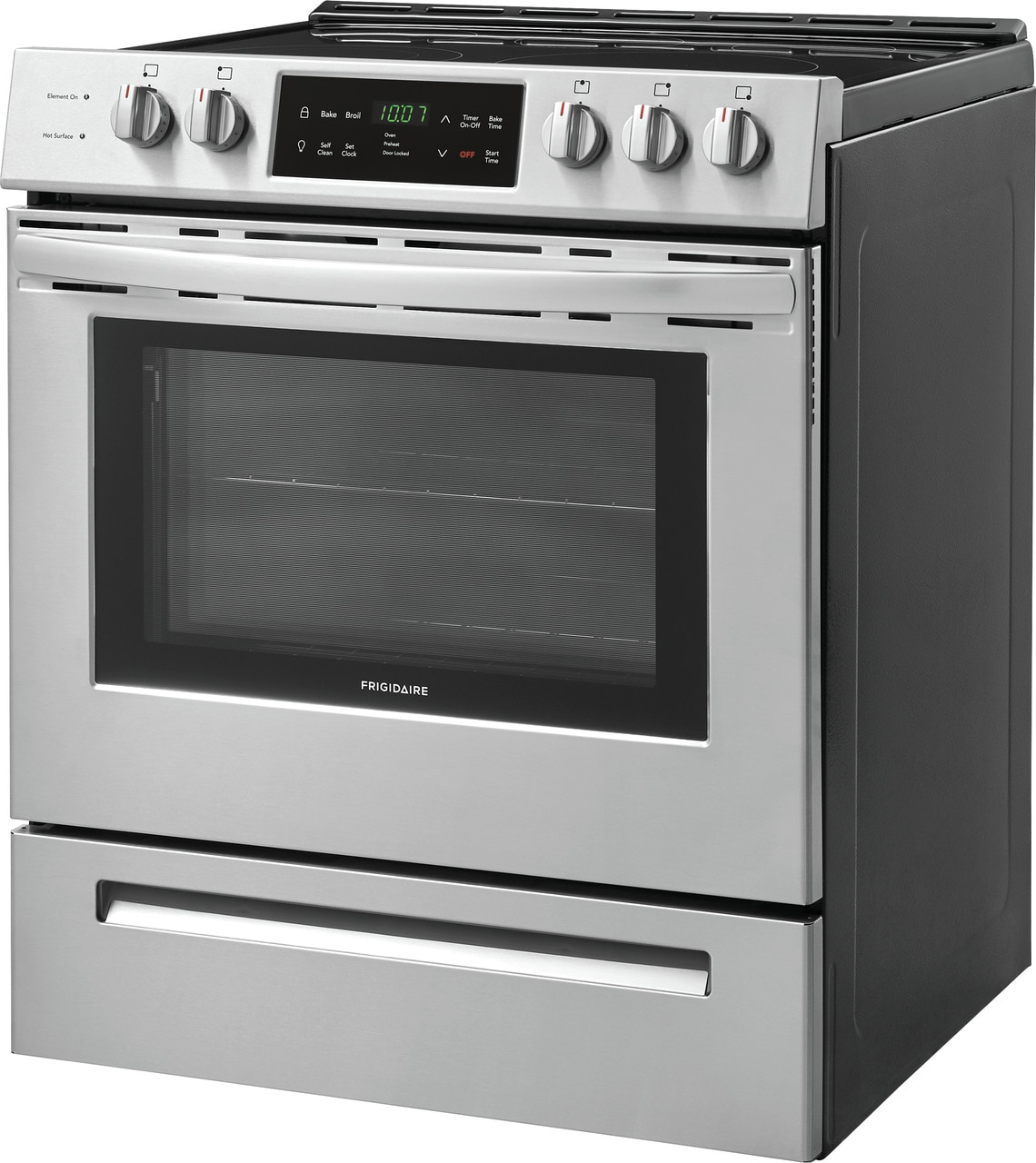 "Model: FFEH3054US | Frigidaire 30"" Front Control Freestanding Electric Range"
