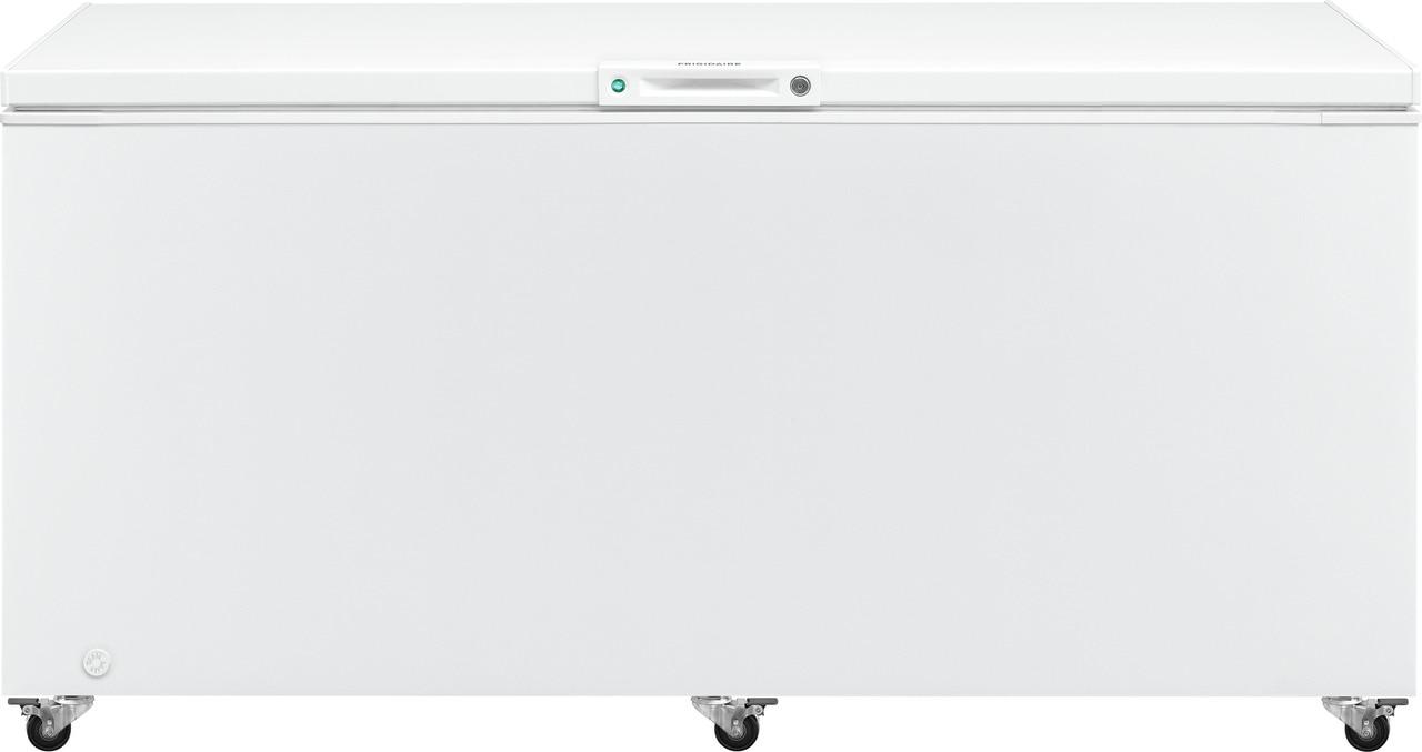 Model: FFFC25M4TW   Frigidaire 24.8 Cu. Ft. Chest Freezer