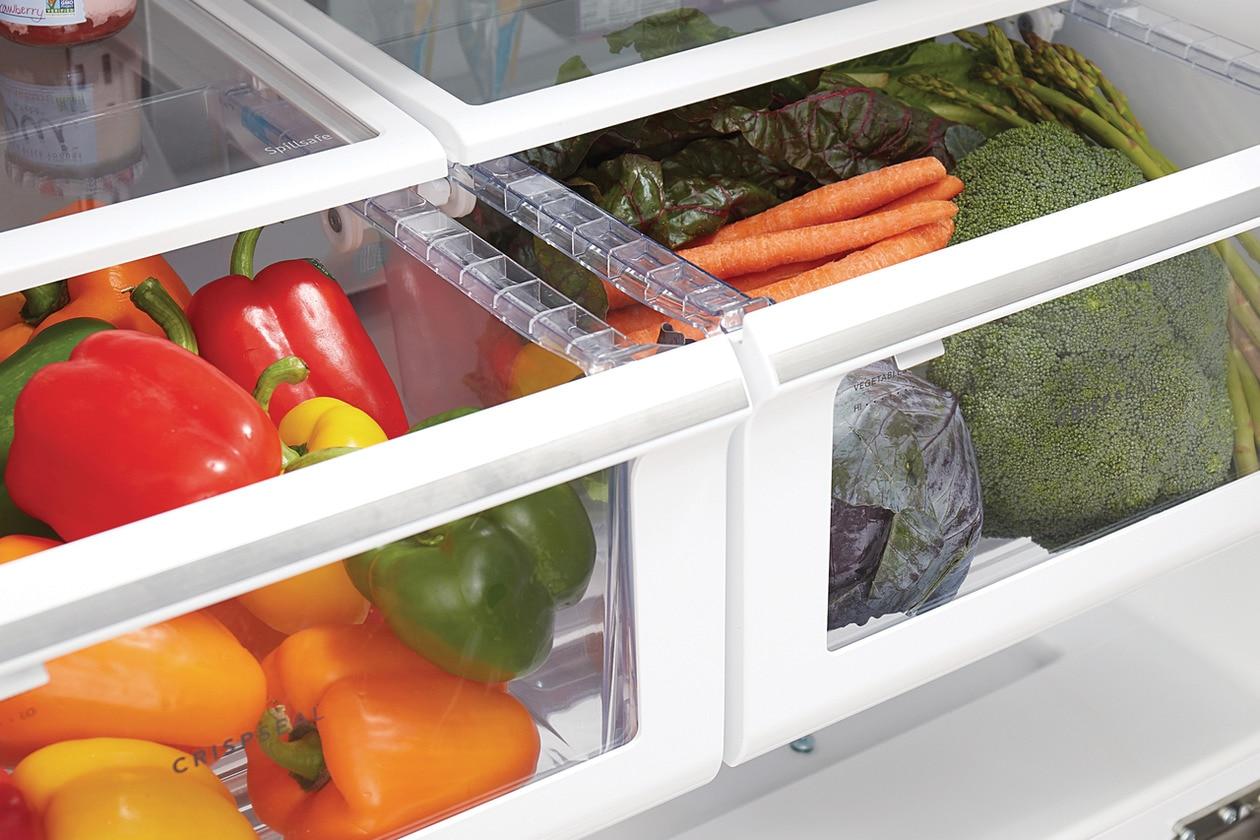 Model: FFHB2750TD   Frigidaire 26.8 Cu. Ft. French Door Refrigerator