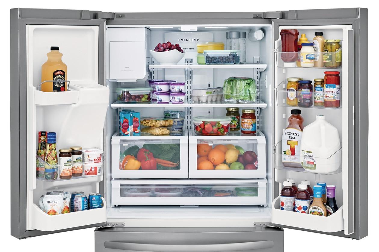 Model: FFHD2250TS | Frigidaire 21.7 Cu. Ft. French Door Counter-Depth Refrigerator