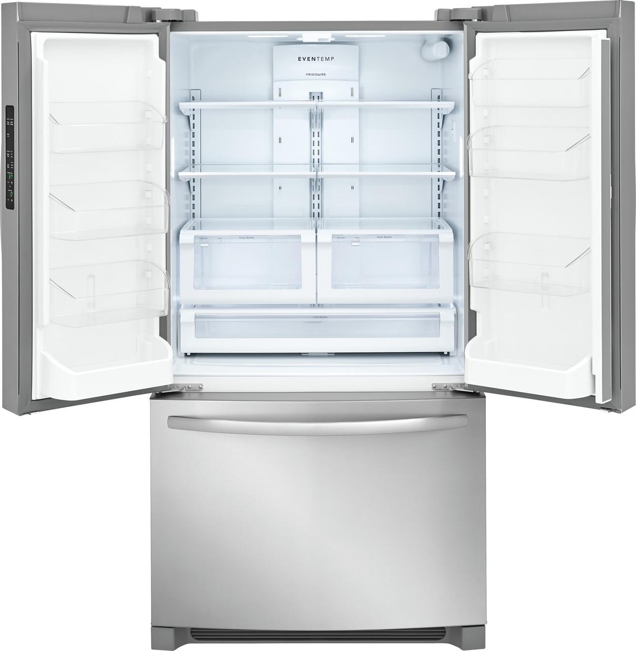 Model: FFHN2750TS | Frigidaire 27.6 Cu. Ft. French Door Refrigerator