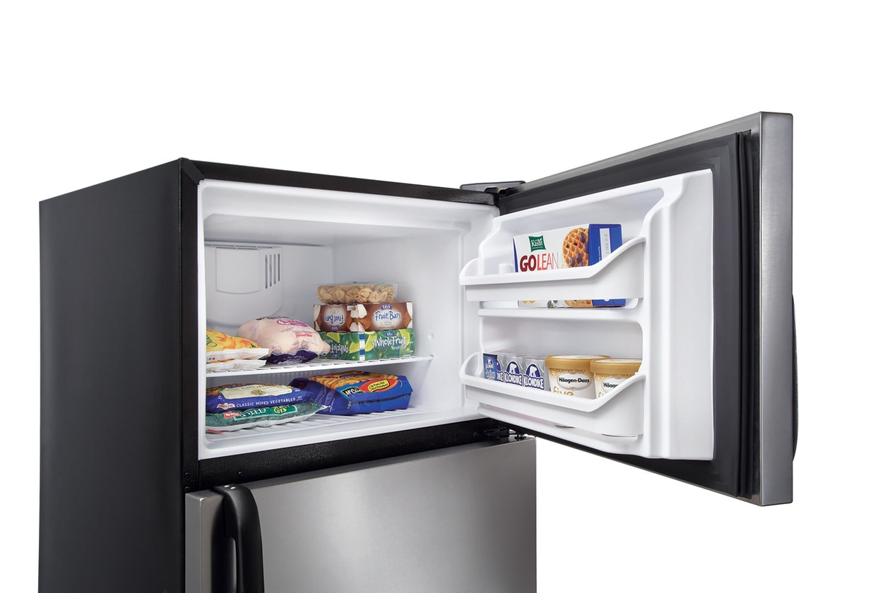 Model: FFHT1621TS | Frigidaire 16.3 Cu. Ft. Top Freezer Refrigerator