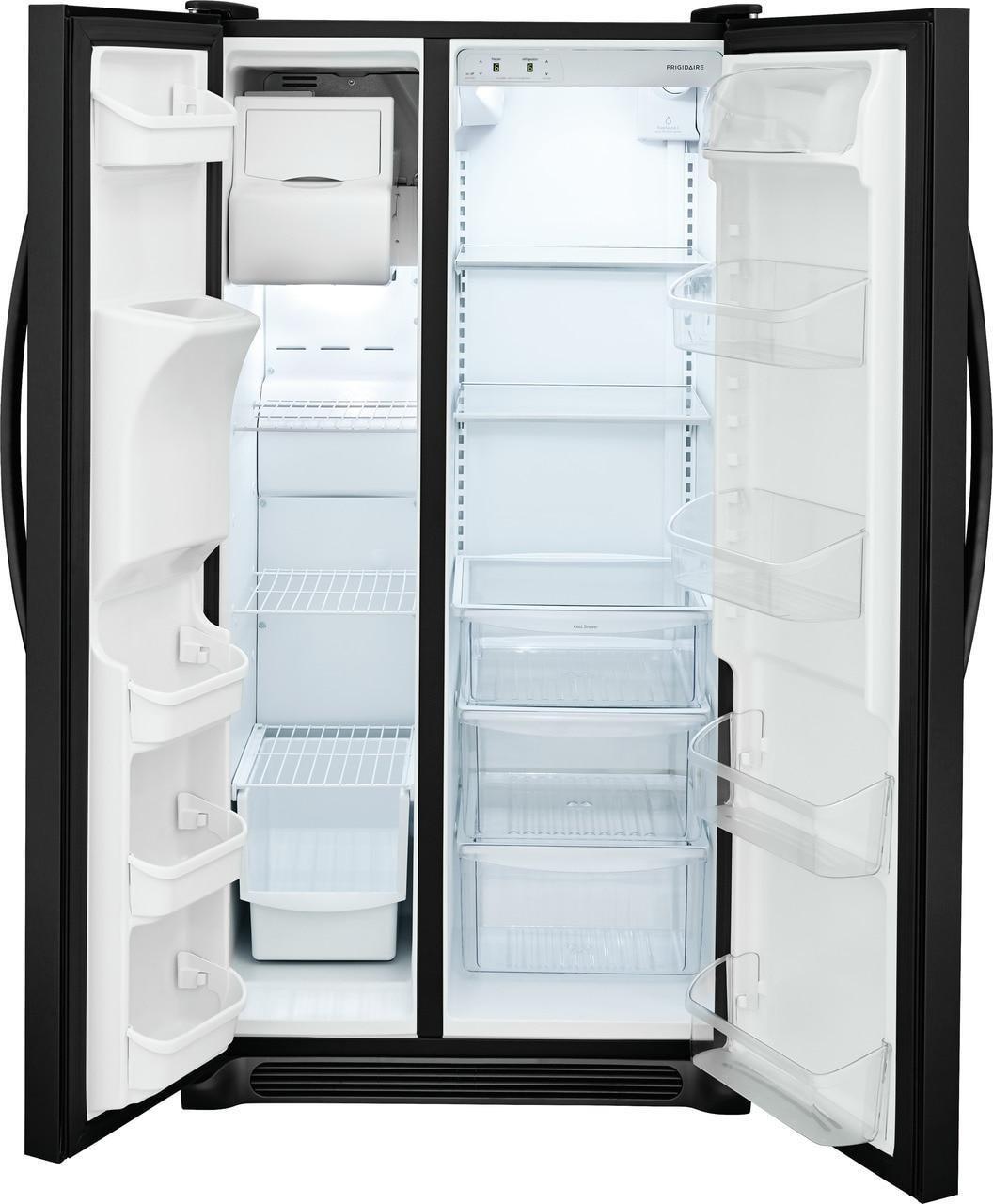 Model: FFSS2315TE | Frigidaire 22.1 Cu. Ft. Side-by-Side Refrigerator