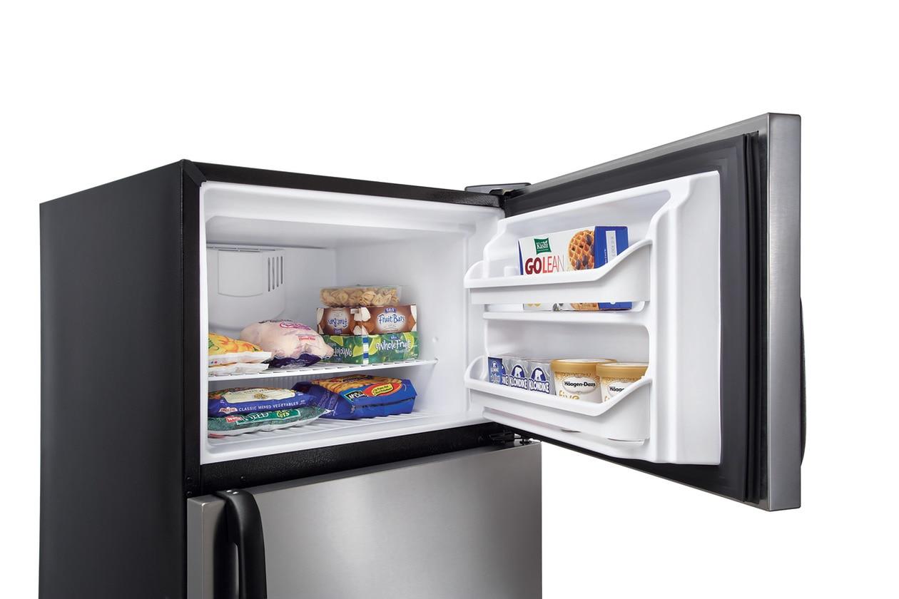Model: FFTR1814TB | Frigidaire 18 Cu. Ft. Top Freezer Refrigerator