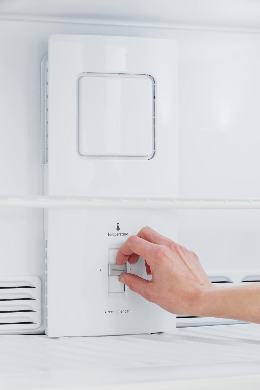 Model: FFTR1821TB | Frigidaire 18 Cu. Ft. Top Freezer Refrigerator