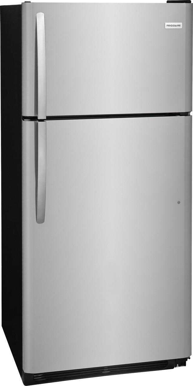 Model: FFTR1821TS   Frigidaire 18 Cu. Ft. Top Freezer Refrigerator