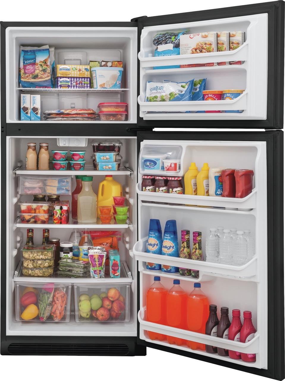 Model: FFTR2021TB | Frigidaire 20.4 Cu. Ft. Top Freezer Refrigerator