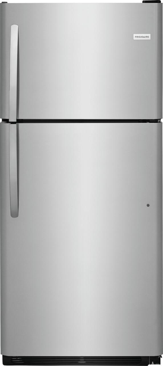 Model: FFTR2021TS   Frigidaire 20.4 Cu. Ft. Top Freezer Refrigerator