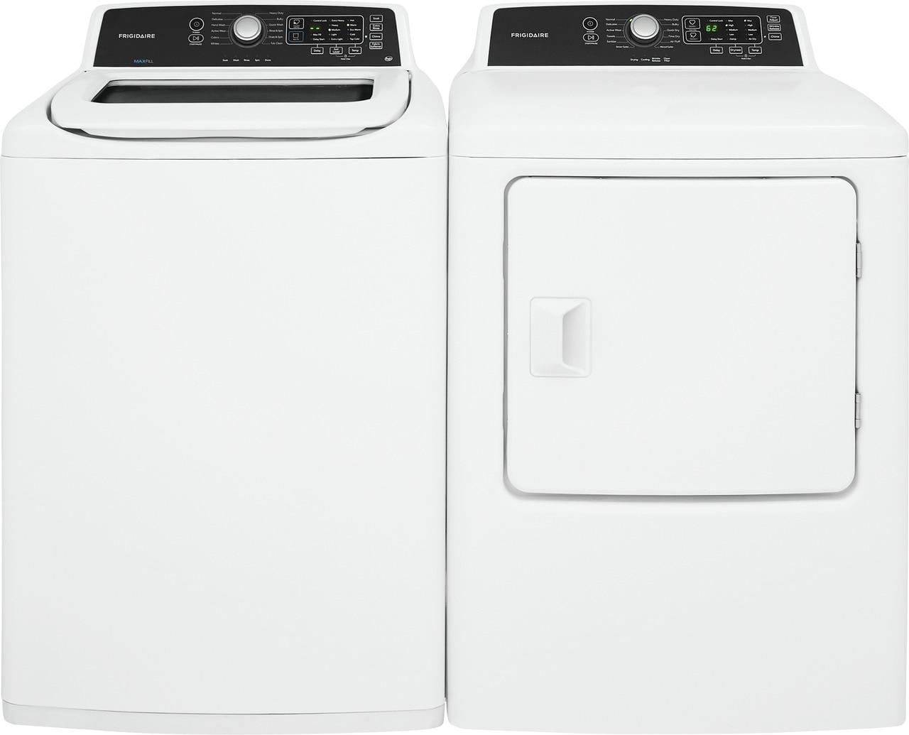 Model: FFTW4120SW | Frigidaire 4.1 Cu. Ft. High Efficiency Top Load Washer