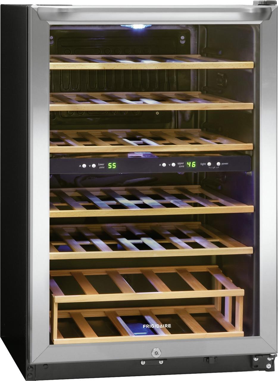 Model: FFWC3822QS | Frigidaire 38 Bottle Two-Zone Wine Cooler