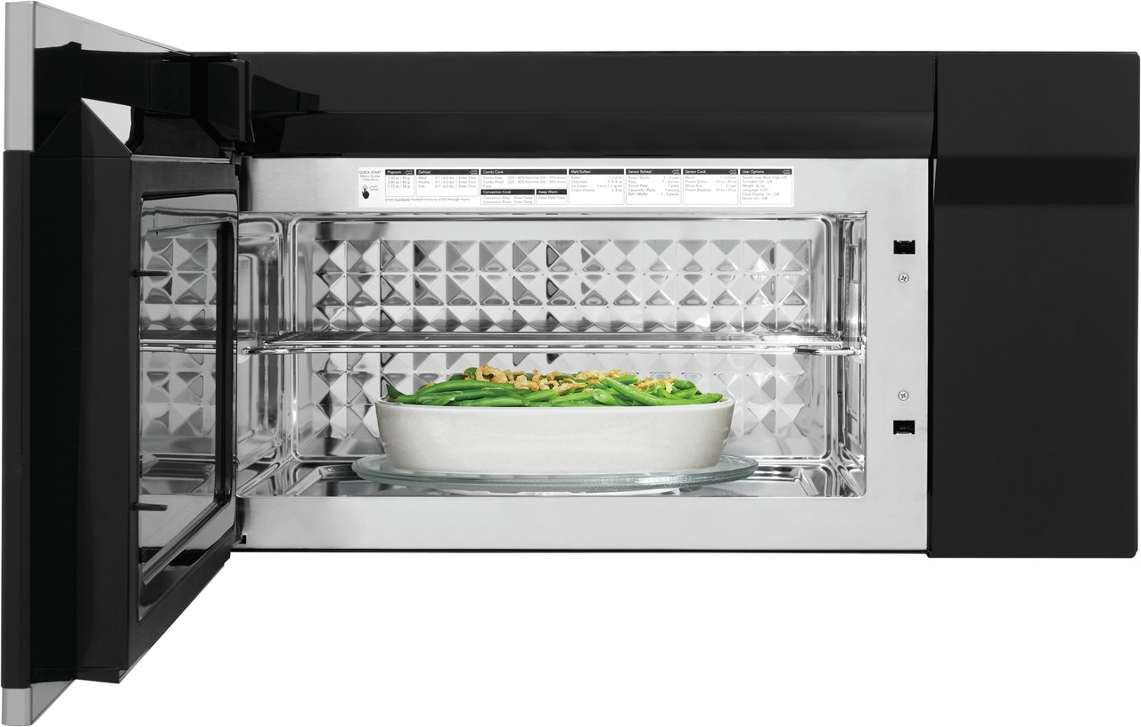 Model: FGBM15WCVF | Frigidaire Gallery 1.5 Cu. Ft. Over-The-Range Microwave with Convection