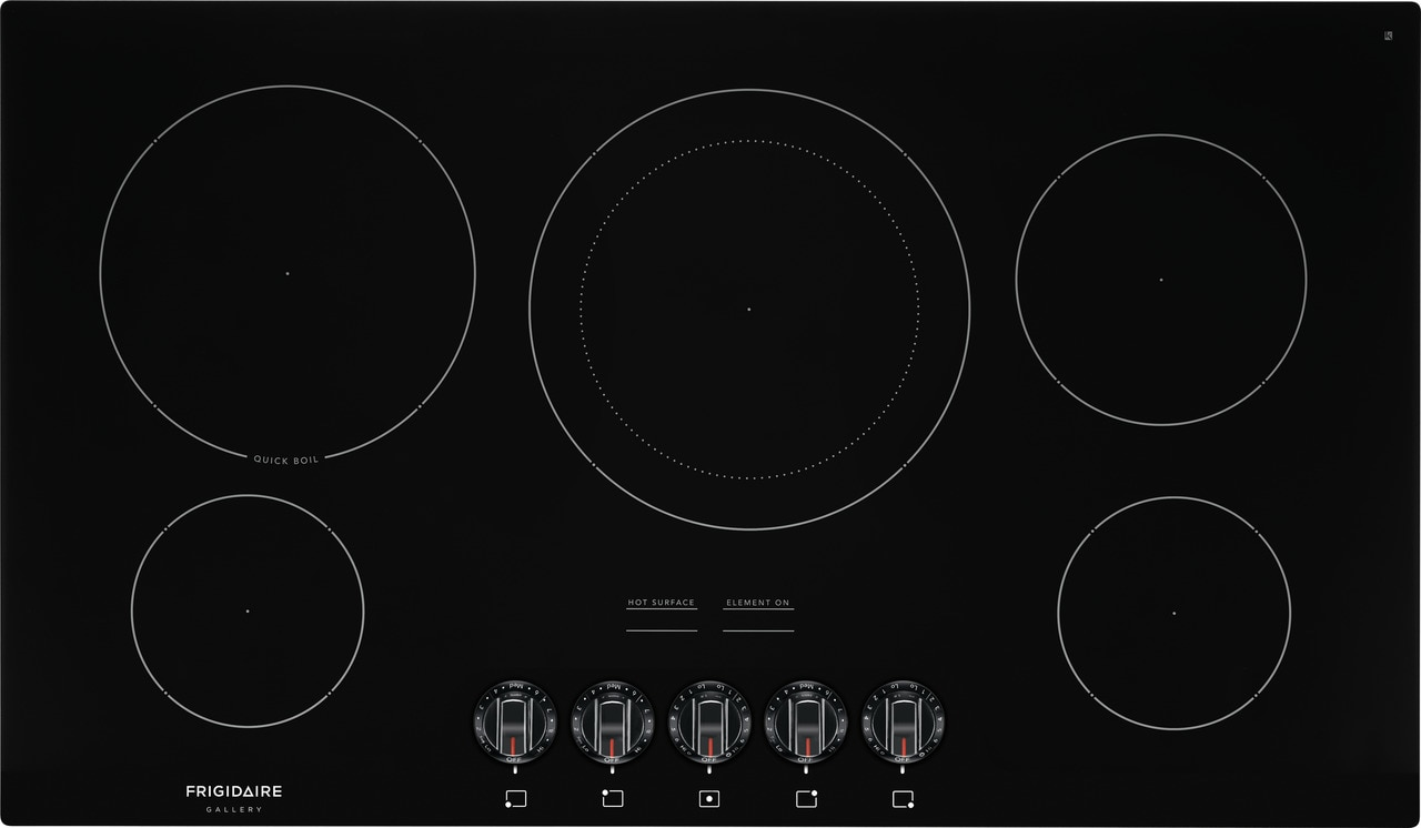 "Model: FGEC3648UB | Frigidaire Gallery 36"" Electric Cooktop"
