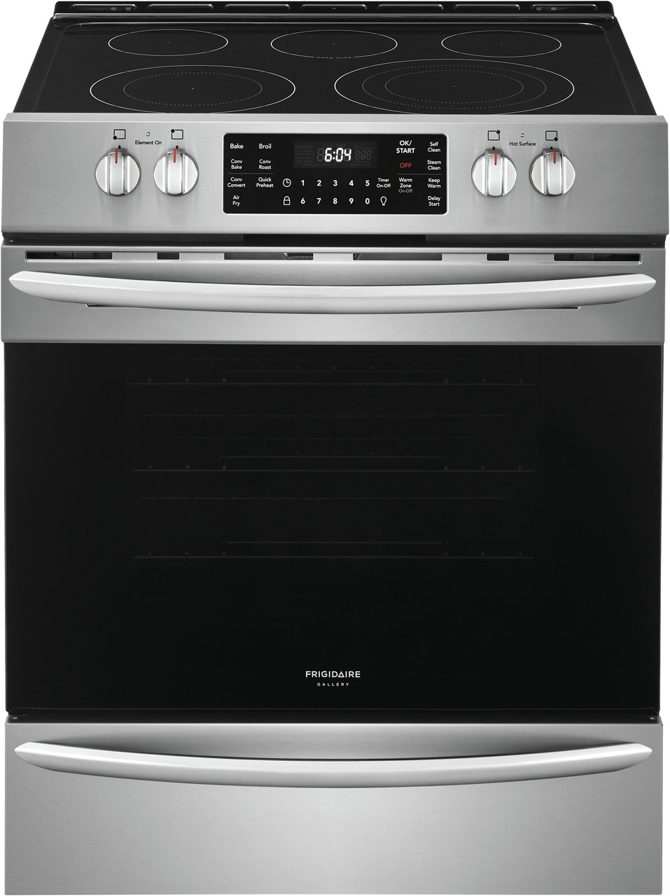 "Frigidaire Gallery 30"" Front Control Electric Range with Air Fry"